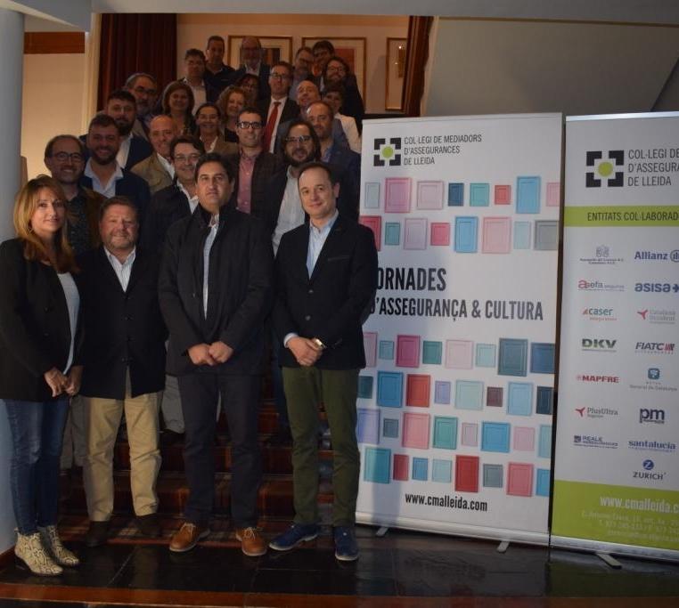 10. Foto de grup amb l'Alcade de Naut Aran César Ruiz-Canela