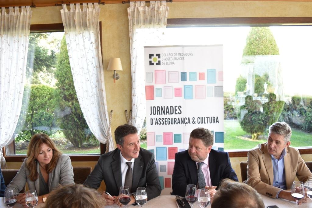 XXXIX Almuerzo-tertulia organizada por el Col·legi de Mediadors d'Assegurances de Lleida