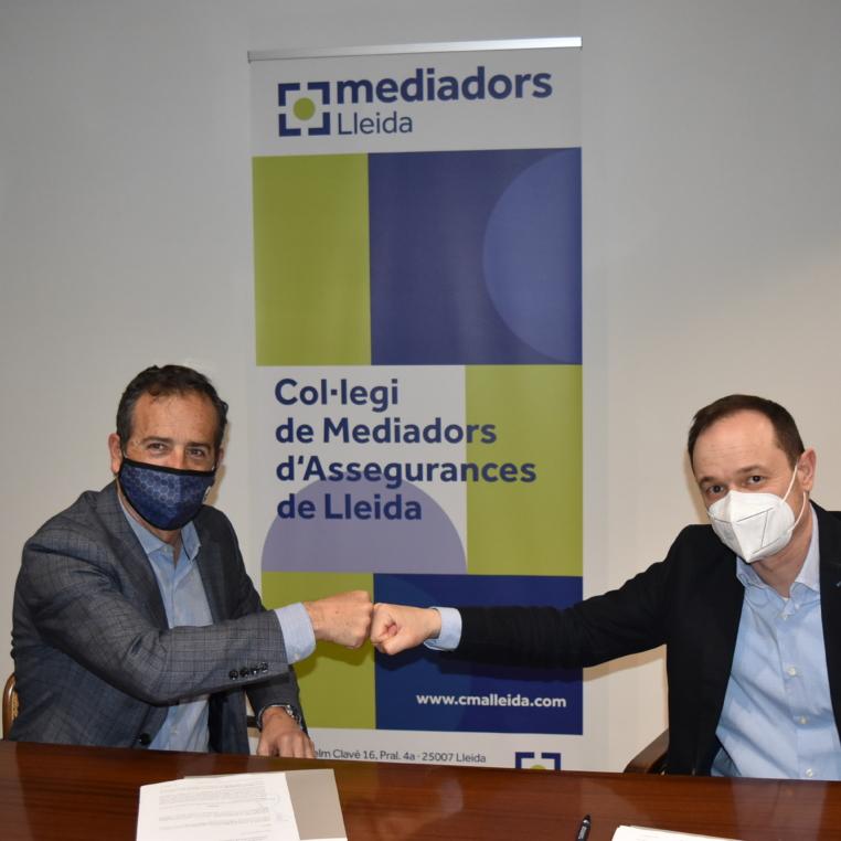Murtra i Farré signen l'acord de col·laboració